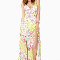 Glowing Spring Maxi Dress