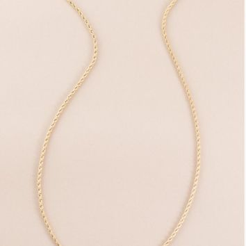 Twist Around Necklace