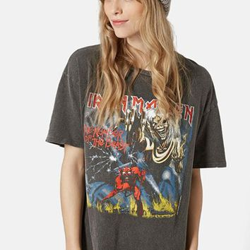 Women's Topshop 'Iron Maiden' Tee