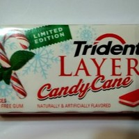 Trident Layers Gum, Candy Cane (8 Packs)