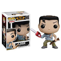 Funko POP! Horror Movie - Vinyl Figure - ASH (Evil Dead) (4inch) (Pre-Order ships June): BBToyStore.com - Toys, Plush, Trading Cards, Action Figures & Games online retail store shop sale