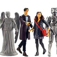 Doctor Who 3 3/4  Wave 1 Action Figure set Pre-Order ships July