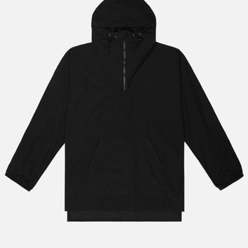 Nylon Tech Poncho / Black