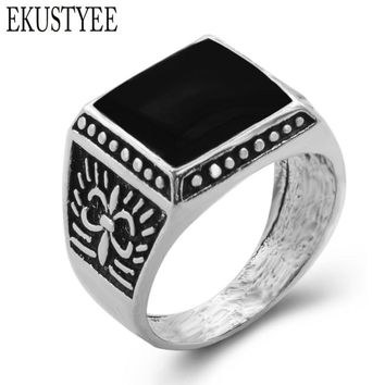 Forever The Black Friday To provide The Lowest Price Men Biker Silver Jewelry Fashion Wedding Rings For Men