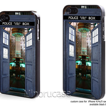 open the door dr who Custom case For iphone 4/4s,iphone 5,Samsung Galaxy S3,Samsung Galaxy S4 by minorucase on etsy