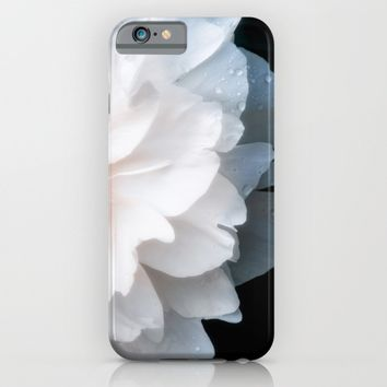 White Flower iPhone & iPod Case by Cinema4design | Society6