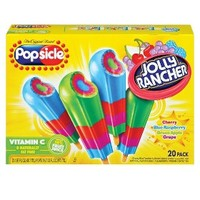 Popsicle® Jolly Rancher™ Candy Flavored Frozen Ice Pops 18 ct