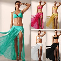 Sexy Tassel swimsuit cover up
