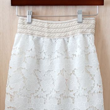 Super Chic Boho Girl Skirt