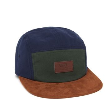 Vans Davis 5 Panel Hat - Mens Backpack - Blue - One