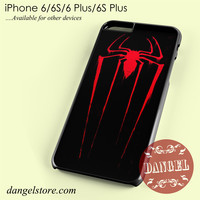Spiderman Red Symbol Phone case for iPhone 6/6s/6 Plus/6S plus