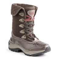 Kodiak Reilly Mid-Cut Women's Waterproof Winter Boots (Brown)