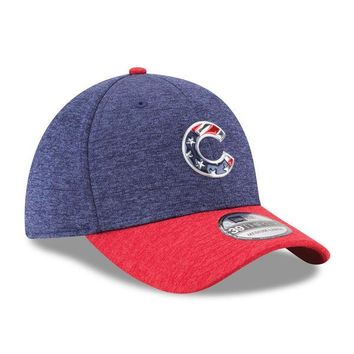 Chicago Cubs 4th of July 2017 39THIRTY Flex Fit Hat By New Era