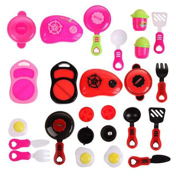 DCCKL72 New Children DIY Beauty Kitchen Cooking Toy Role Play Toy Set Educational Toys baby kitchen toys kitchen set for Children Kids