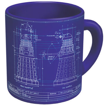 Genesis of the Daleks Mug :: Unemployed Philosophers Guild