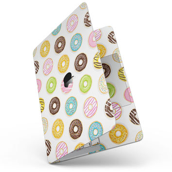 Yummy Colored Donuts - MacBook Pro without Touch Bar Skin Kit