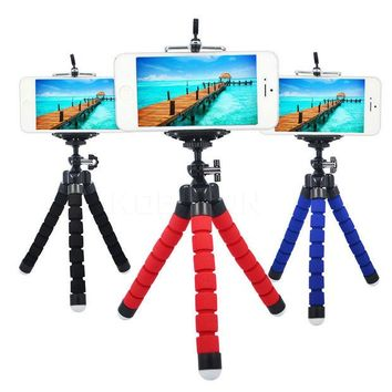 VONC1Y HOT Car Phone Holder Flexible Octopus Tripod Bracket Mount Monopod Adjustable Accessorie Support For Cell Phone