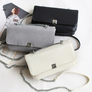 Chain Casual One Shoulder Messenger Bags Stylish Phone [4915798020]