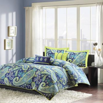 Home Essence Apartment Maya Duvet Cover Set - Walmart.com