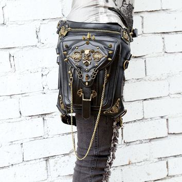 Steampunk Multi-Way Hip Purse