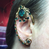 Renaissance  Elven Fairy Ear Cuffs