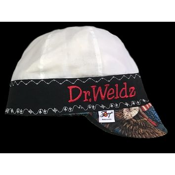 """The """"Americana"""" Embroidered Unique Hybrid Welding Cap"""