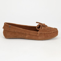 Volcom Lovebirds Womens Shoes Cognac  In Sizes