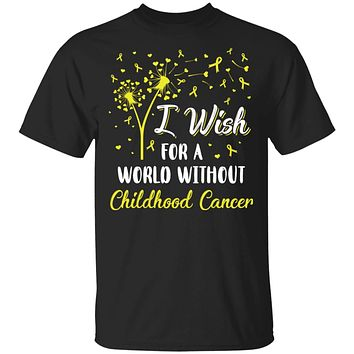 I Wish For A World Without Childhood Cancer Awareness