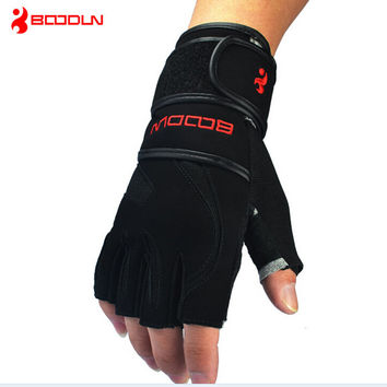 Weight Lifting Gym Glove Training Fitness Gloves Bodybuilding Workout Wrist Wrap Exercise Gloves FREE SHIPPING!