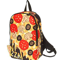 Supreme YUM Pizza Backpack with Interior Tech Pocket Graphics