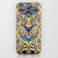 Drawing Floral Zentangle G240 iPhone & iPod Case by MedusArt | Society6