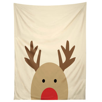 Allyson Johnson Reindeer Tapestry
