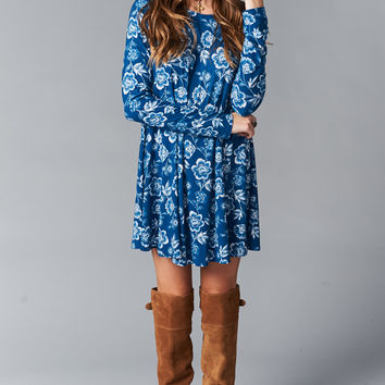 Show Me Your mumu Tyler Tunic ~ Indigo Crazy Spandy