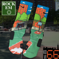 KD VI 66 Custom Nike Elite Socks | Rock 'Em Apparel