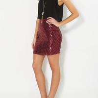 Sequined Popover Party Dress | Mini Dresses | rue21