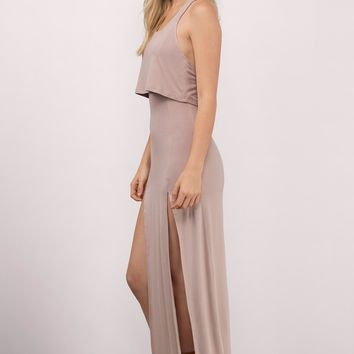 Slit Up High Maxi Dress
