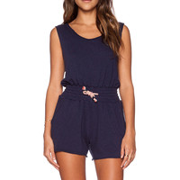 Nation LTD Courtney Romper in Nation Navy