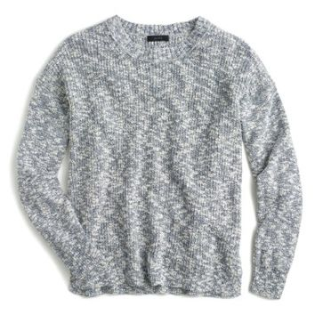 J.Crew Oversize Marled Yarn Sweater | Nordstrom