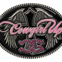 Montana Silversmiths Cowgirl Up Buckle