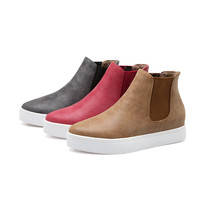 Women Flats Shoes Simple Boots Fall|Winter 5705