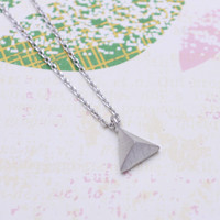 Simple Pyramid necklace