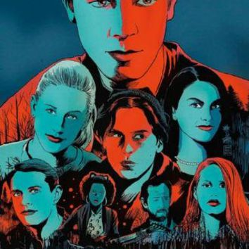 Riverdale poster Metal Sign Wall Art 8inx12in