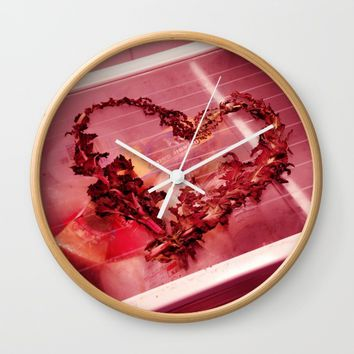Cold Hearted? Wall Clock by EXIST NYC