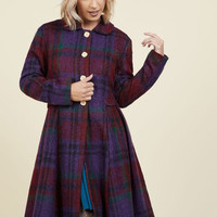 Bloomington Breeze Coat in Berry | Mod Retro Vintage Coats | ModCloth.com