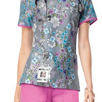 Buy Runway Women's Spring Forward Round Neck Scrub Top for $20.95