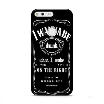 Ed Sheeran Drunk Lyrics jack daniels Google Pixel XL 2 Case