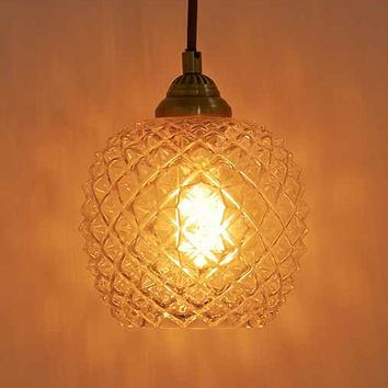 Honeycomb Glass Pendant Light