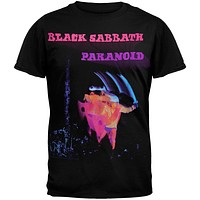Black Sabbath - Paranoid Motion Trails T-Shirt