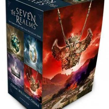 The Demon King / the Exiled Queen / the Gray Wolf Throne / the Crimson Crown: The Complete Series (The Seven Realms): The Seven Realms: The Complete Series (Seven Realms)