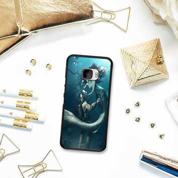 DIVER AND THE MERMAID HTC One M10 Case Planetscase.com